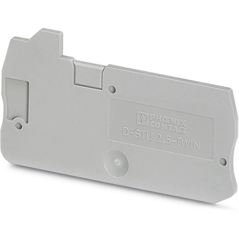 D-STU 2,5-TWIN - cover D-STU 2,5-TWIN Phoenix Contact Indhold: 50 stk