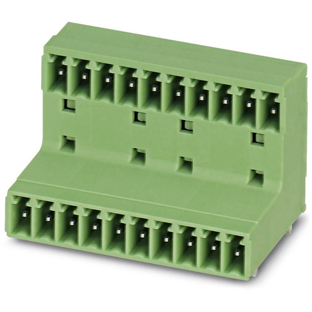 Stiftkabinet-printplade MCD (value.1361122) Samlet antal poler 12 Phoenix Contact 1830059 Rastermål: 3.81 mm 50 stk