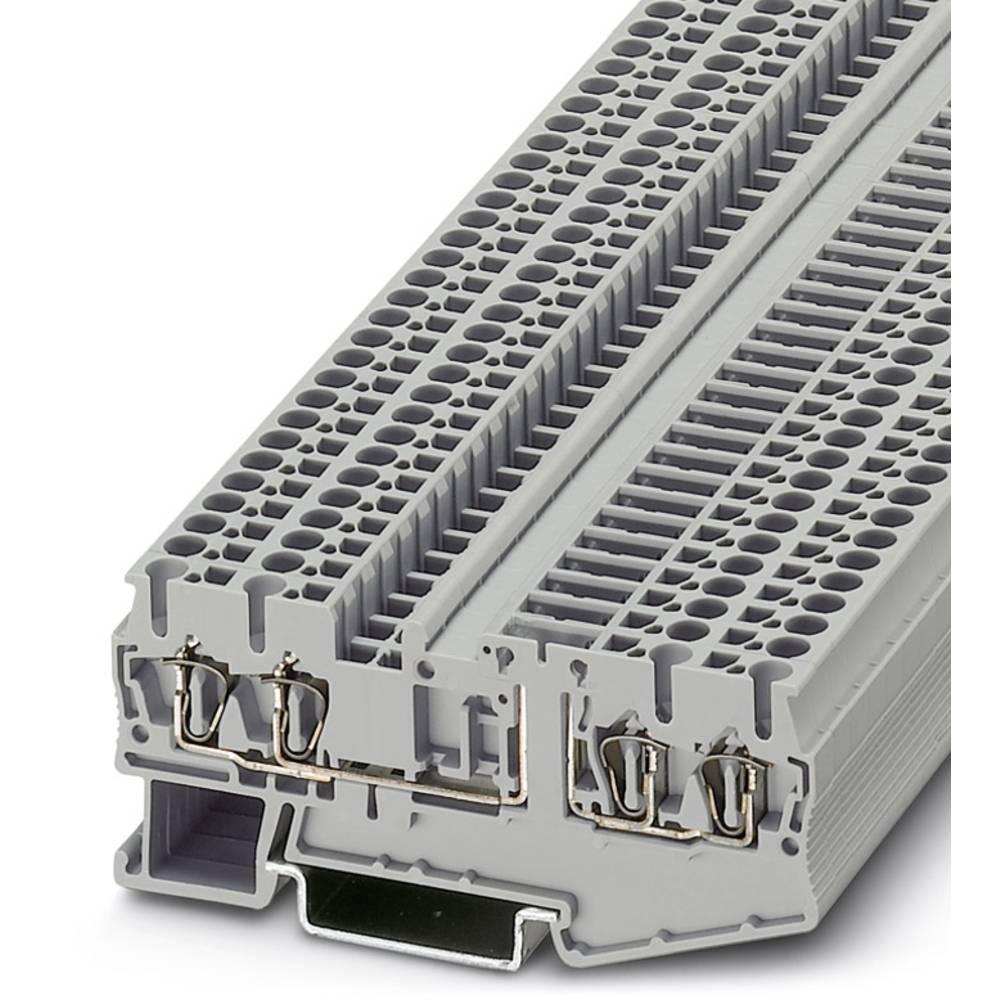 ST 2,5-QUATTRO-TG - komponent terminal Phoenix Contact ST 2,5-QUATTRO-TG Grå 50 stk
