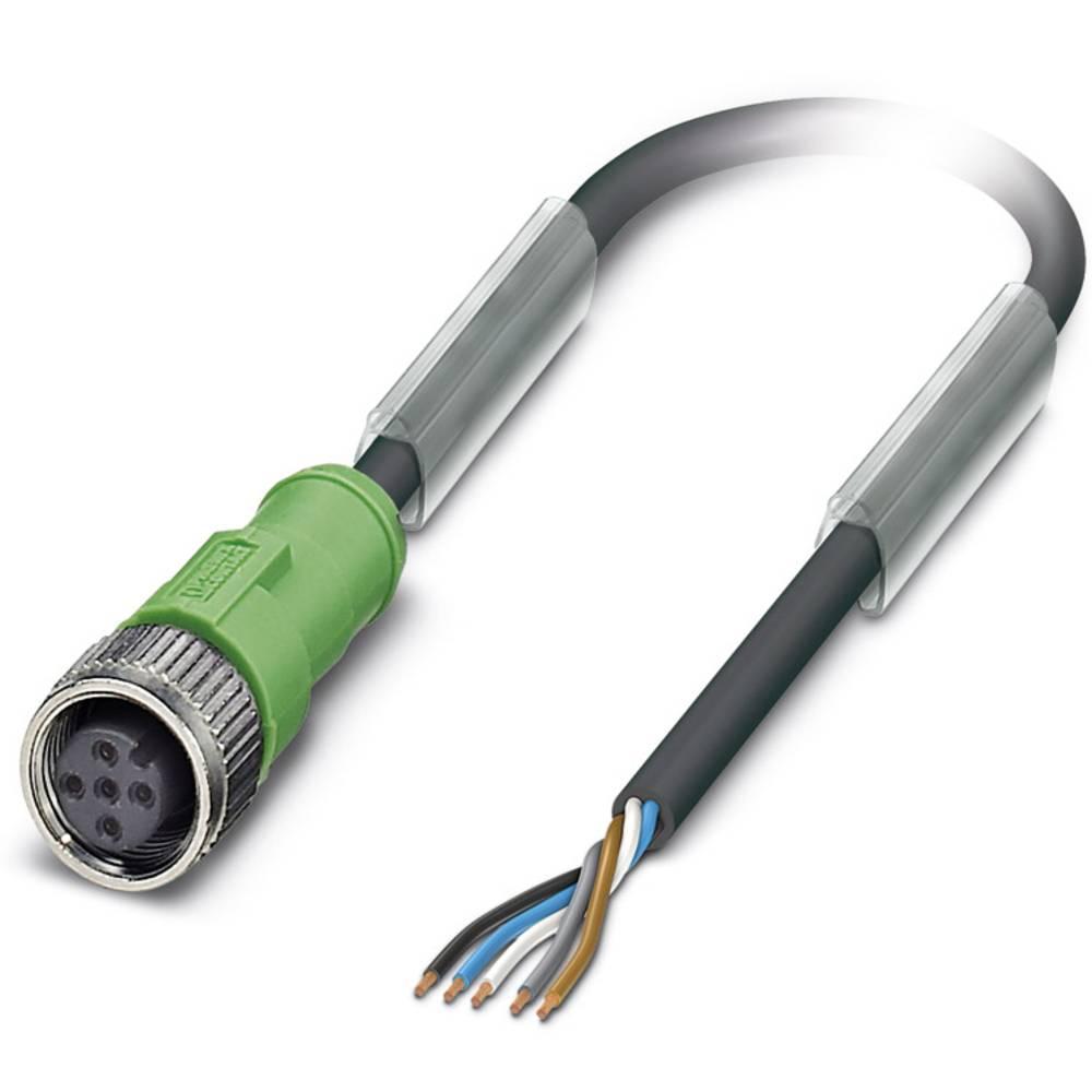 Senzorski/aktuatorski kabel SAC-5P-10,0-115/M12FS Phoenix Contact vsebuje: 1 kos