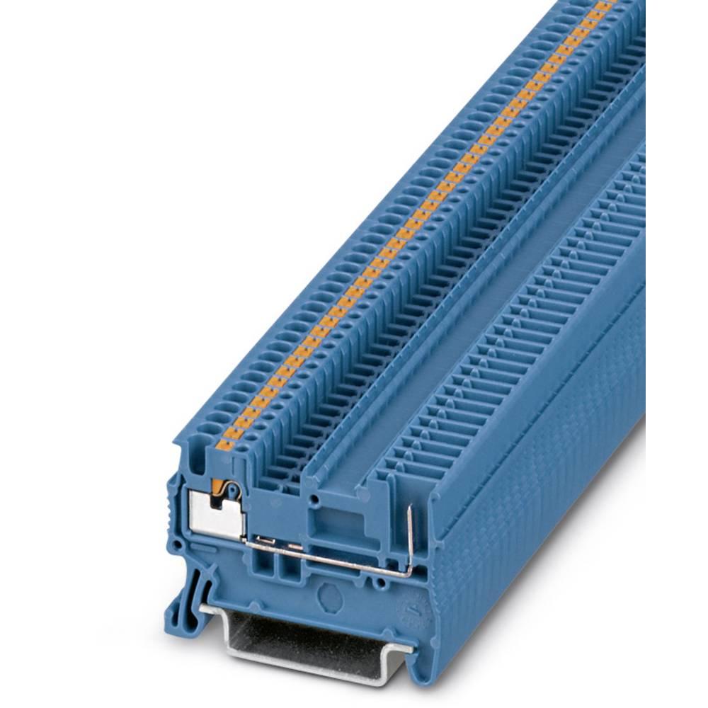 Feed-through terminal block PT 1,5/S/1P BU Phoenix Contact PT 1,5/S/1P BU Blå 50 stk