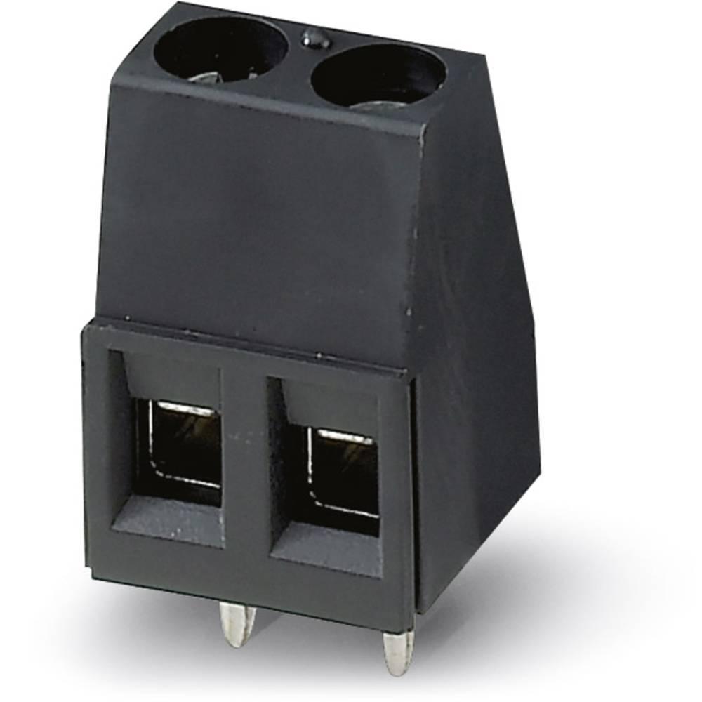 Skrueklemmeblok Phoenix Contact MKDS 1,5/ 3 HT BK 1.50 mm² Poltal 3 Sort 50 stk