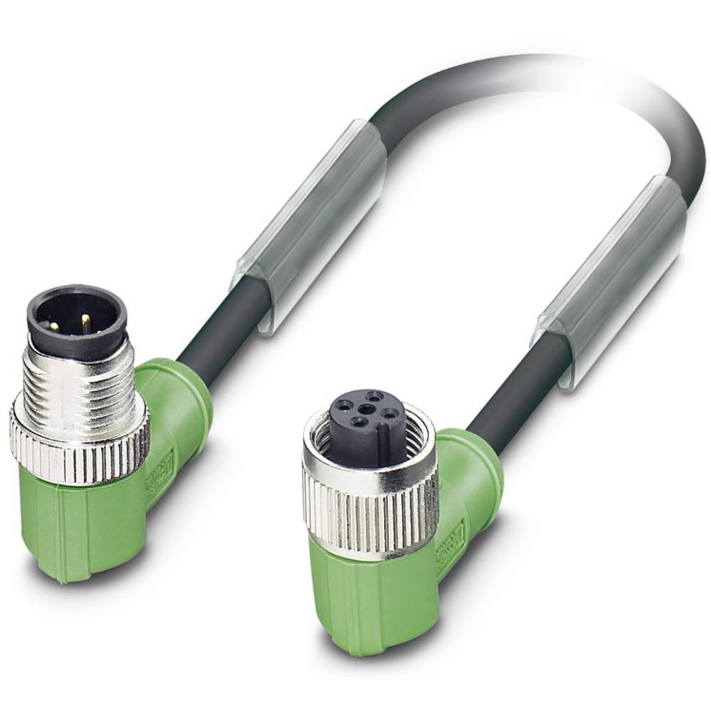Senzorski/aktuatorski kabel SAC-3P-M12MR/0,6-PUR/M12FR B Phoenix Contact vsebuje: 1 kos