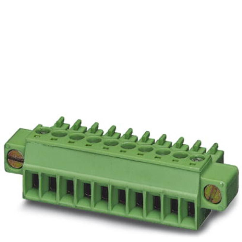 Tilslutningskabinet-kabel MC (value.1360607) Samlet antal poler 9 Phoenix Contact 1847194 Rastermål: 3.50 mm 50 stk