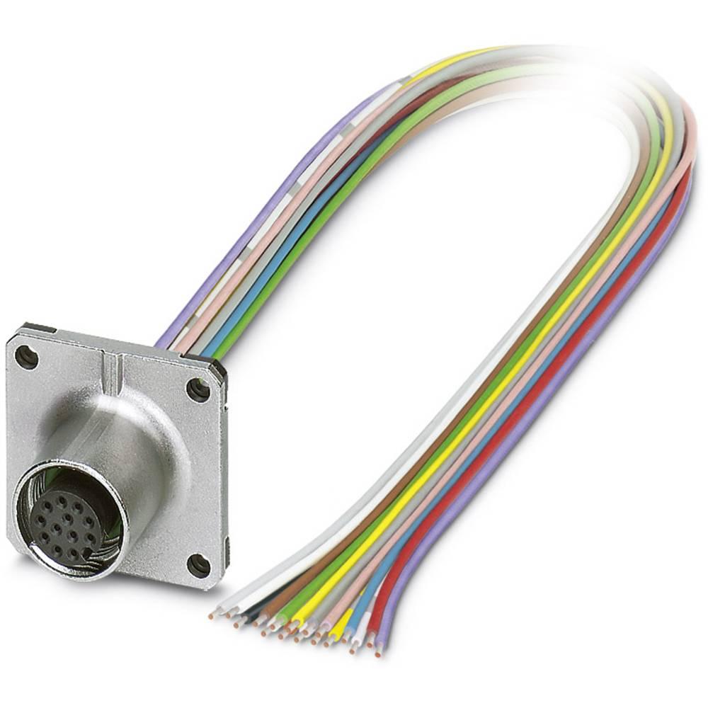 SACC-SQ-M12FS-17CON-25F/0,5 - vgradni vtični konektor, SACC-SQ-M12FS-17CON-25F/0,5 Phoenix Contact vsebuje: 1 kos