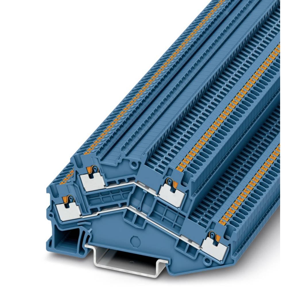 PTTBS 1.5 / S BU - dobbelt-deck terminal Phoenix Contact PTTBS 1,5/S BU Blå 50 stk