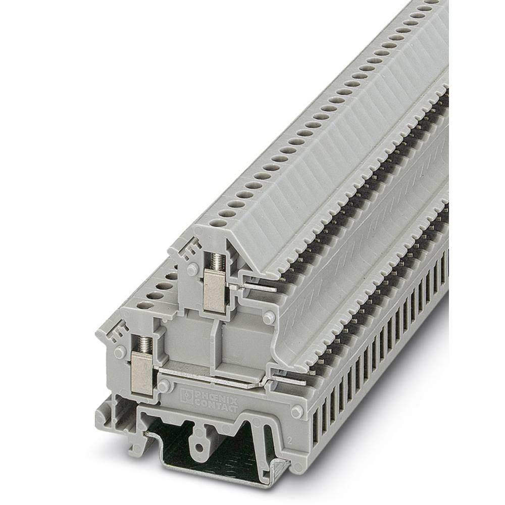UKK 3-MSTB-5,08 - dobbelt-deck terminal Phoenix Contact UKK 3-MSTB-5,08 Grå 50 stk