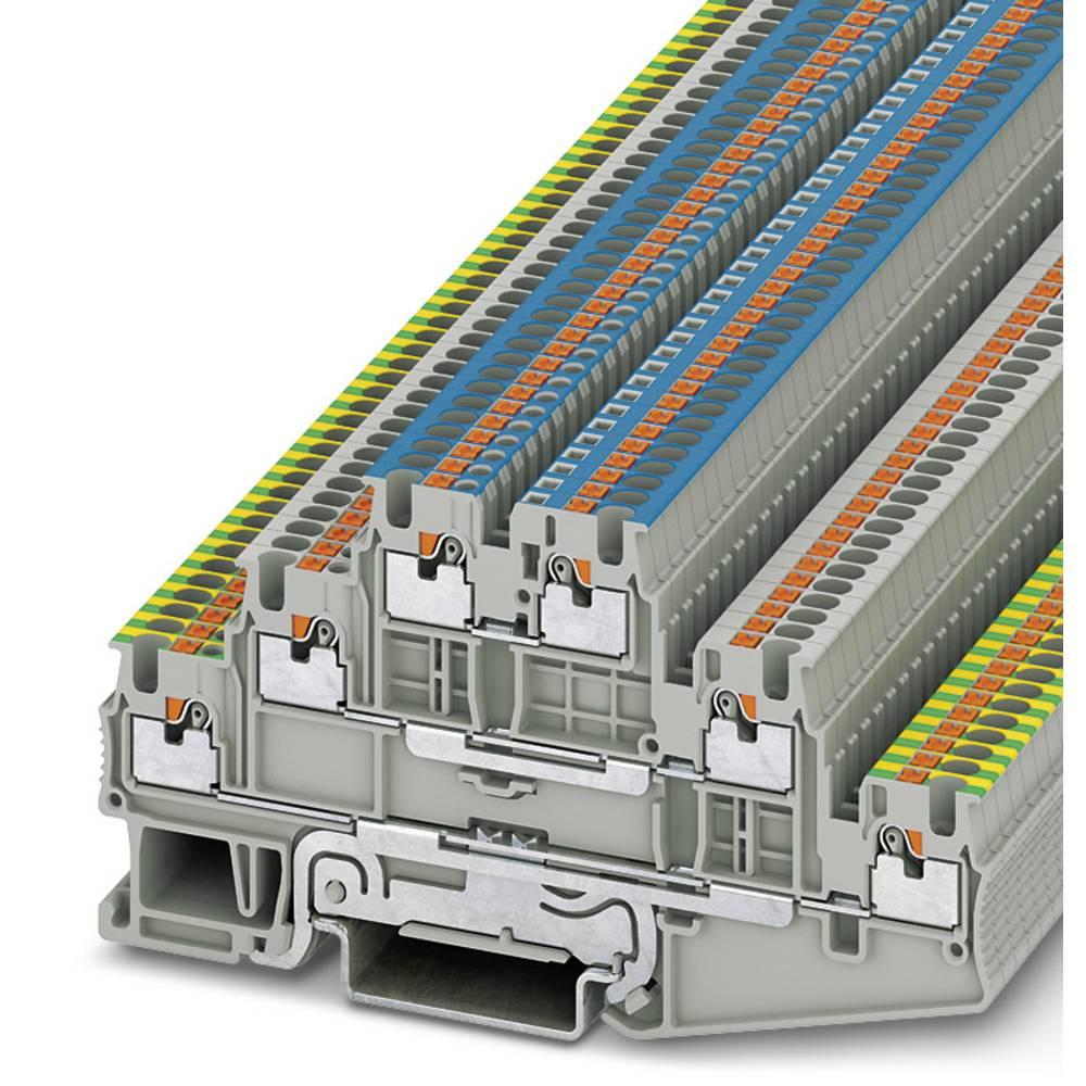 PT 1.5 / S-PE / L / N - multi-level terminal Phoenix Contact PT 1,5/S-PE/L/N Grå 50 stk
