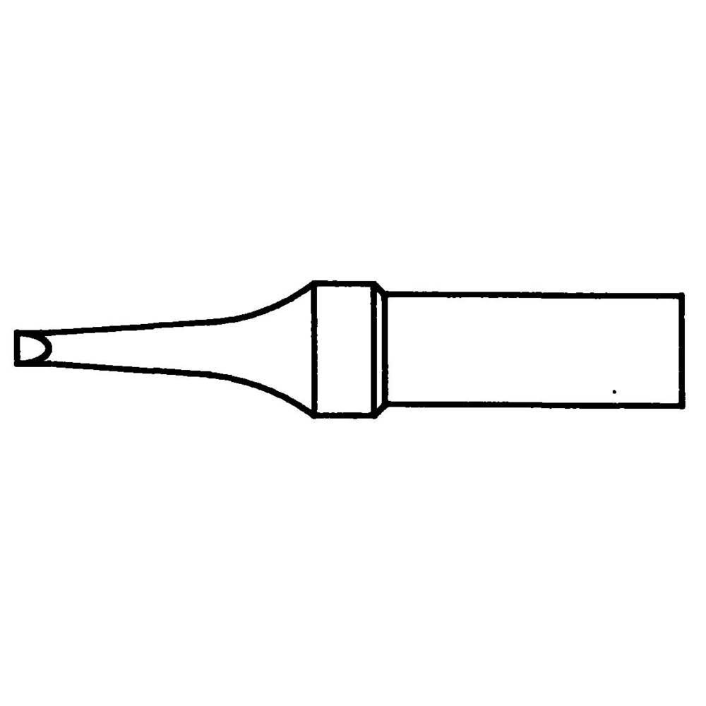 Spajkalna konica, ravna Weller 4ETR-1 velikost konice 1.6 mm vsebuje 1 kos