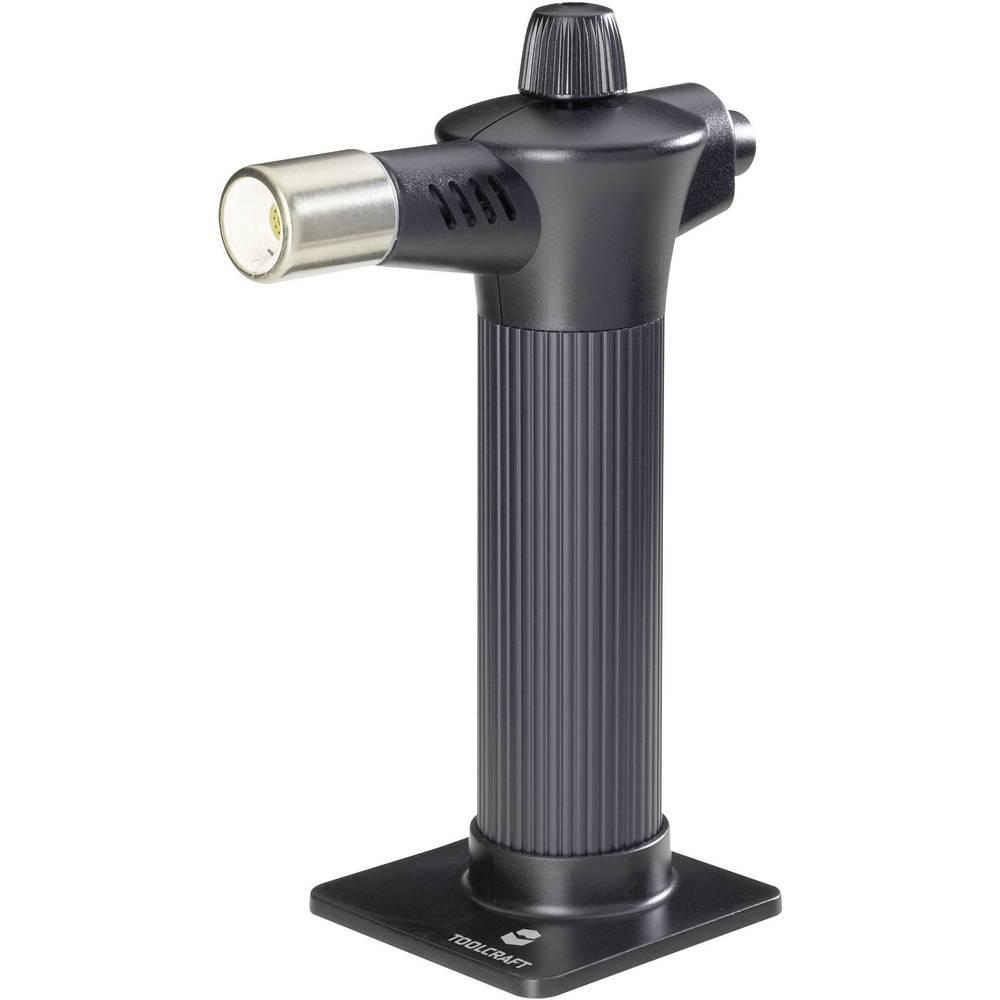 Plinski gorilnik TOOLCRAFT MT-6804 1300 °C 60 min vklj. s Piezo-vžigalnikom