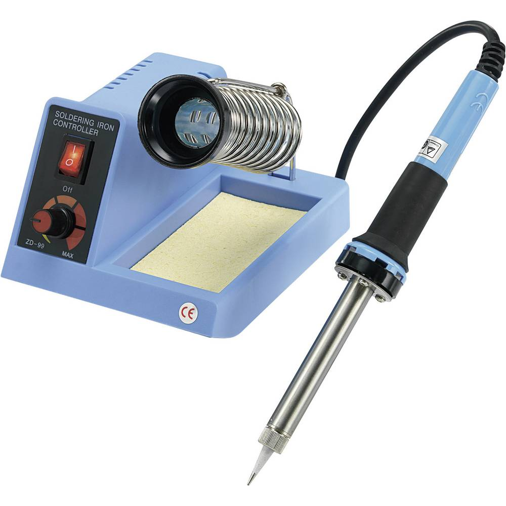 Kompaktna stanica za lemljenje ZD-99 Basetech 48 W +150 do +450 °C