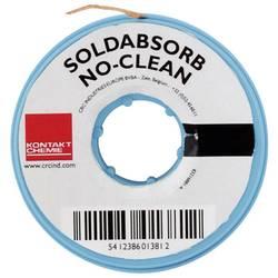 Lödfläta CRC Kontakt Chemie SOLDABSORB Längd 10 m Bredd 2.5 mm Flussmedel mättat