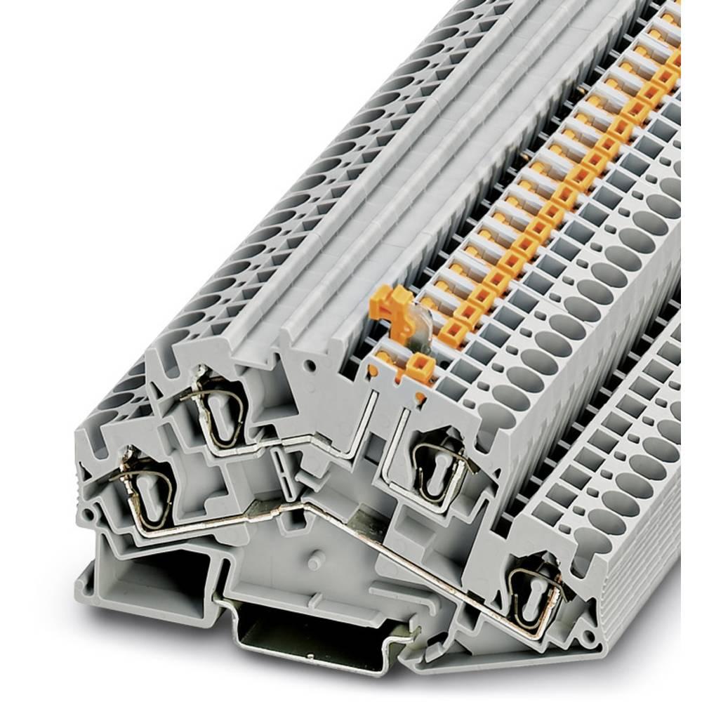 STTBS 4-MT - Knife afbryde terminal Phoenix Contact STTBS 4-MT Grå 50 stk