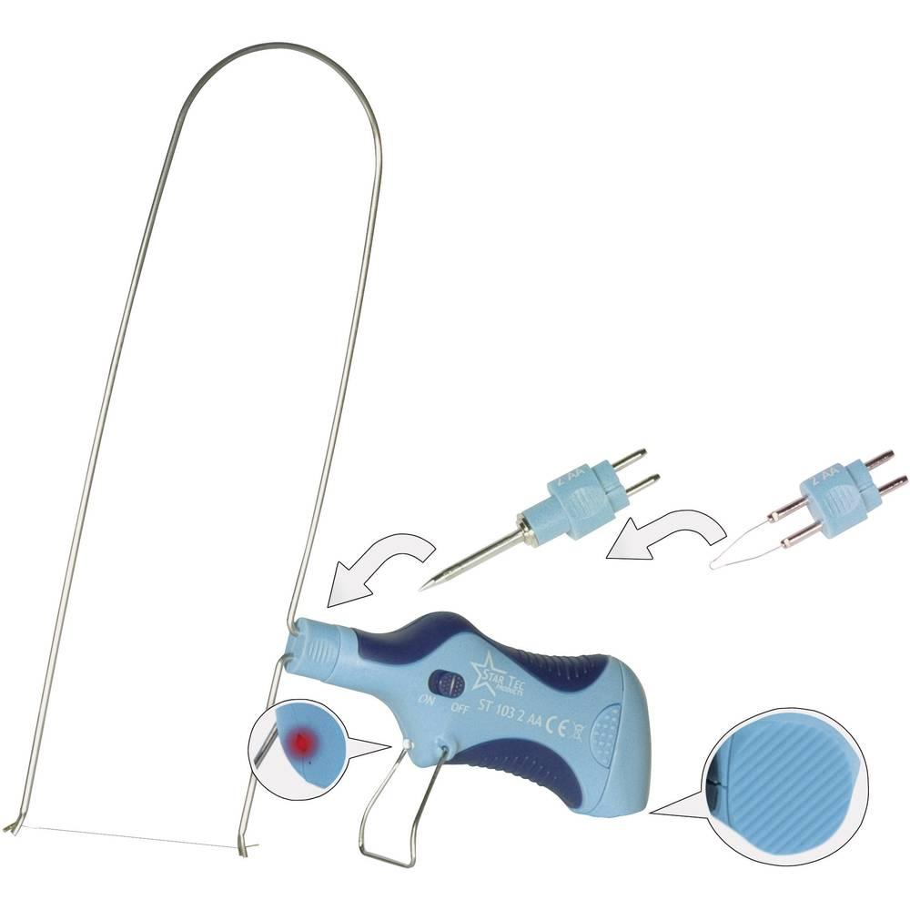 Multi-orodje 6 V 15.5 W Star Tec ST 106 spajkalna konica, gorilna konica, vroča žica +300 do +500 °C na akumulatorski pogon