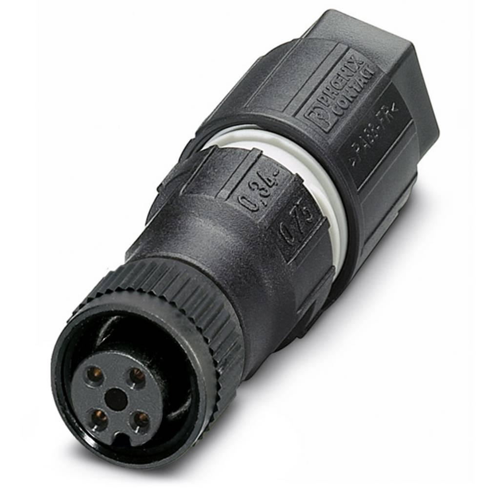 SACC-M12FS-4QO-0,75 - vtični konektor, SACC-M12FS-4QO-0,75 Phoenix Contact vsebuje: 1 kos