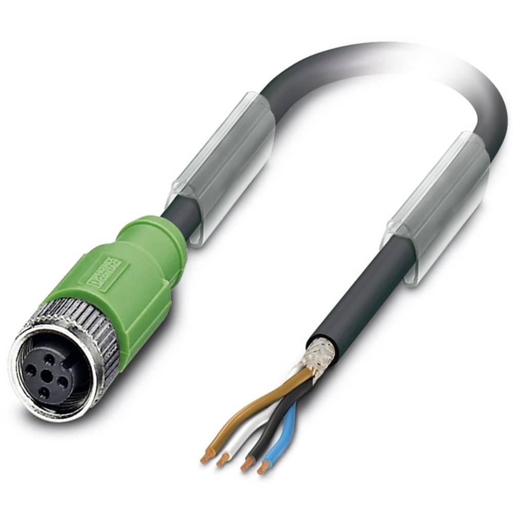 Sensor-, aktuator-stik, Phoenix Contact SAC-4P- 3,0-PUR/M12FS SH 1 stk