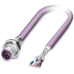 Sensor/ställdon-kontaktdon M12 Kontakt hane inbyggd 5 m Antal poler (RJ): 5 Phoenix Contact 1534452 SACCBP-M12MS-5CON-M16/5,0-92
