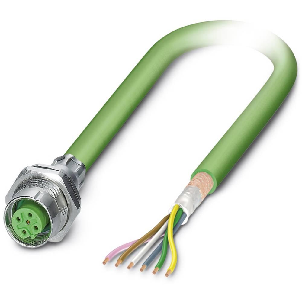 SACCBP-M12FSB-5CON-M16/0,5-900 - S-bus-vgradni vtični konektor, SACCBP-M12FSB-5CON-M16/0,5-900 Phoenix Contact vsebuje: 1 kos