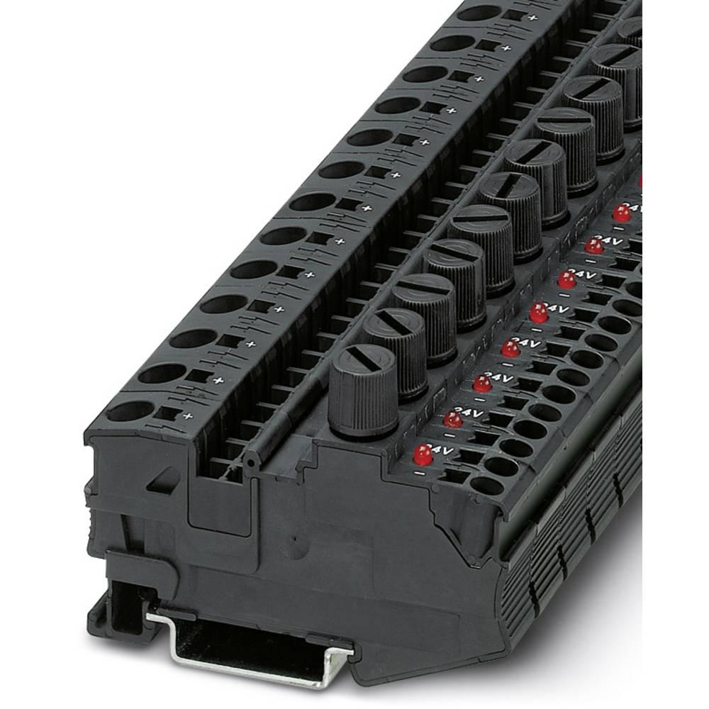 DT 6 / 2,5 DREHSILED 24 (5X20) - fuse terminal Phoenix Contact DT 6/2,5-DREHSILED 24 (5X20) Sort 25 stk