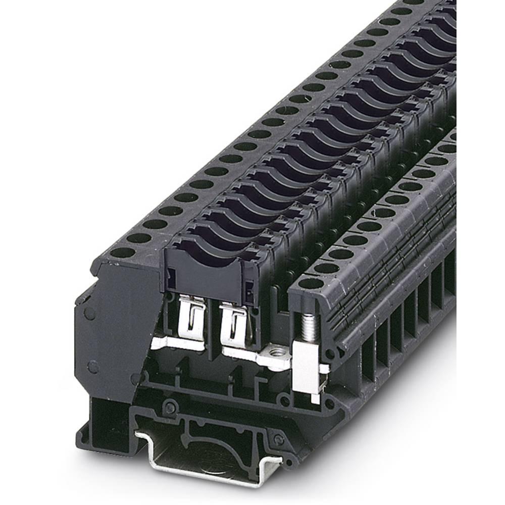 UK 6-FSI / C-LED24 - sikring terminal Phoenix Contact UK 6-FSI/C-LED24 Sort 50 stk