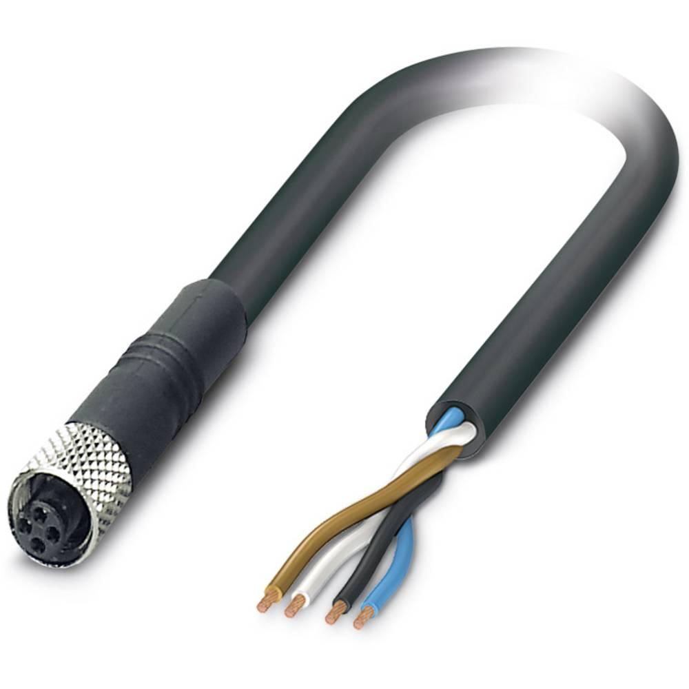Senzorski/aktuatorski kabel SAC-4P- 5,0-PUR/M5FS Phoenix Contact vsebuje: 1 kos