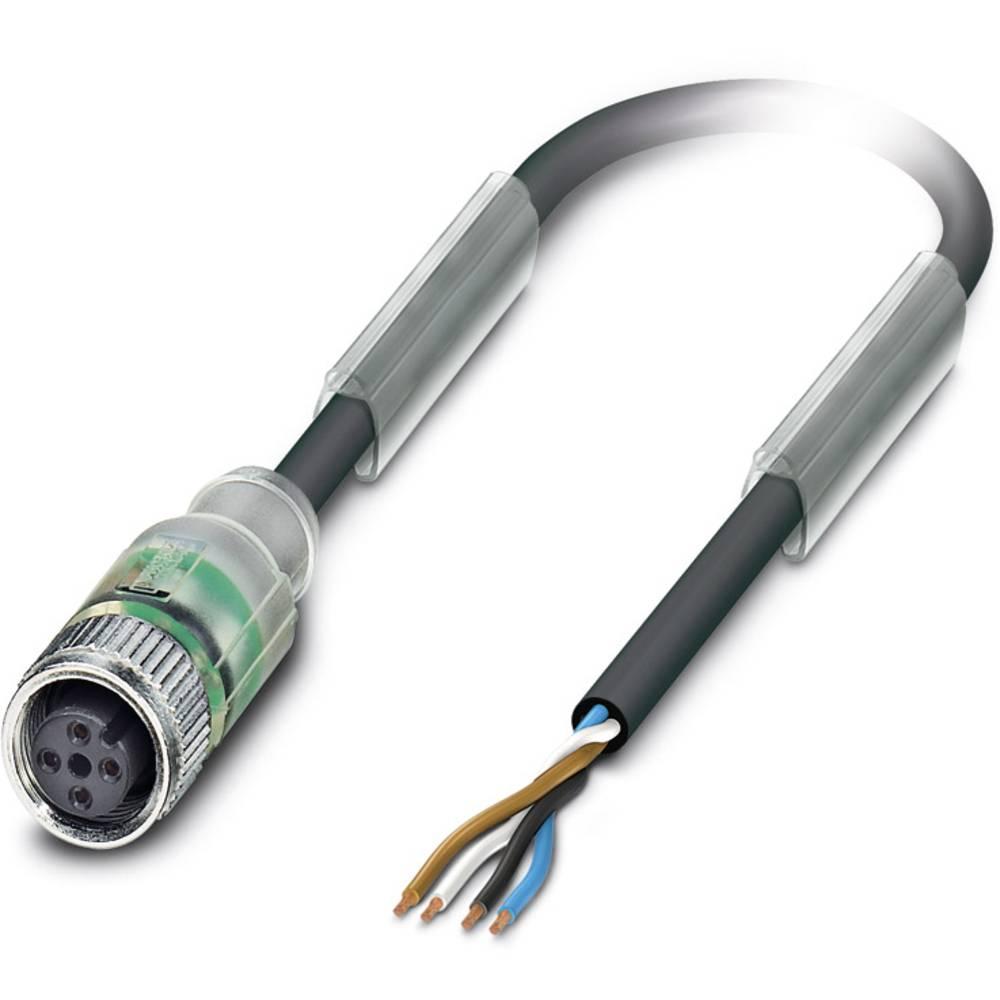 Sensor-, aktuator-stik, Phoenix Contact SAC-4P- 5,0-PUR/M12FS-2L 1 stk