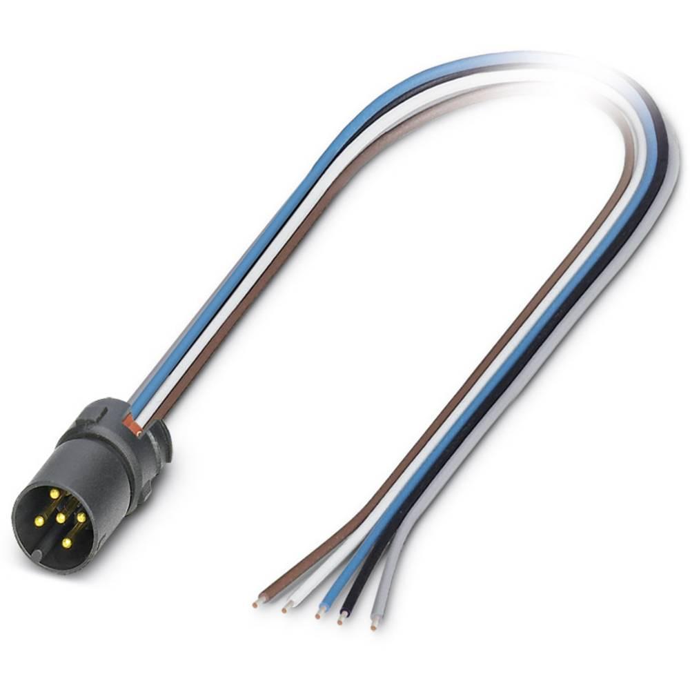 SACC-MCI-M12MS-5CON/0,5 - vgradni vtični konektor, SACC-MCI-M12MS-5CON/0,5 Phoenix Contact vsebuje: 1 kos