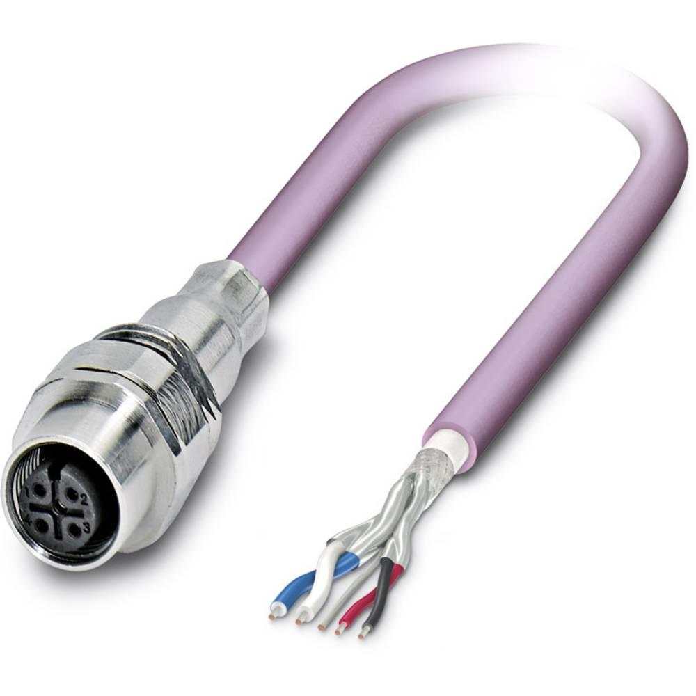 SACCEC-M12FS-5CON-M16/ 1,0-920 - S-bus-vgradni vtični konektor, SACCEC-M12FS-5CON-M16/ 1,0-920 Phoenix Contact vsebuje: 1 kos