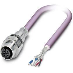 Sensor/ställdon-kontaktdon M12 Hona inbyggd 1 m Antal poler (RJ): 5 Phoenix Contact 1525681 SACCEC-M12FS-5CON-M16/ 1,0-920 1 st