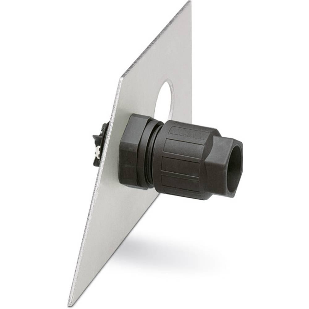 Q 1.5 / 4FL / 24 M20KU-ESA BK - Wall bøsning Phoenix Contact Q 1,5/4FL/24-M20KU-ESA BK 10 stk