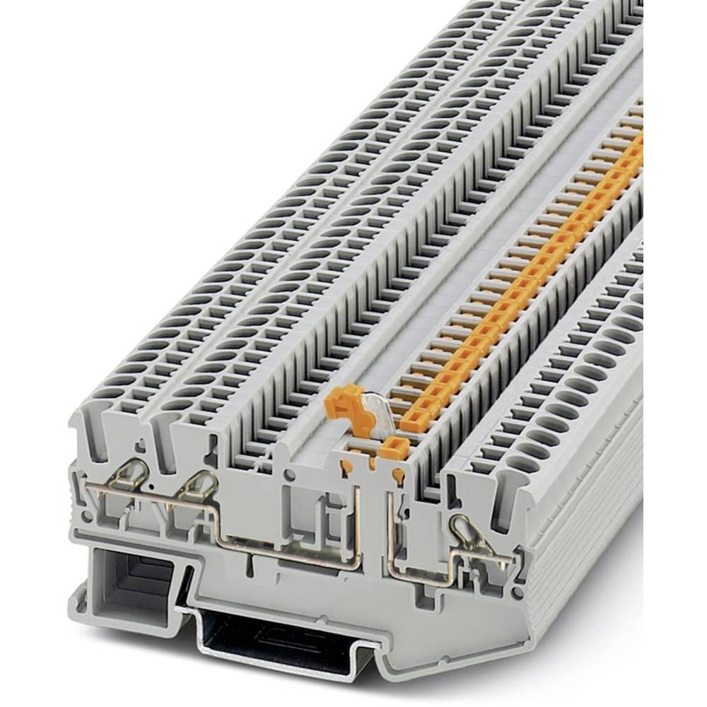 DT 2,5-TWIN-MT - gennem terminal Phoenix Contact DT 2,5-TWIN-MT Grå 50 stk
