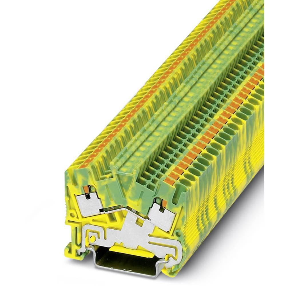 PTS 2.5-PE - beskyttelsesleder klemrække Phoenix Contact PTS 2,5-PE Grøn-gul 50 stk