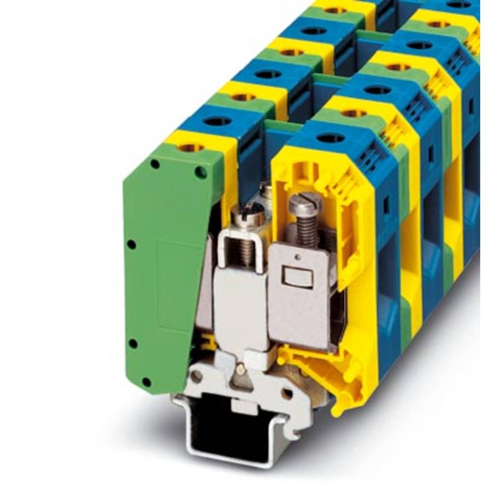 UKH 50-PE / N - beskyttelsesleder klemrække Phoenix Contact UKH 50-PE/N Grøn-gul 5 stk