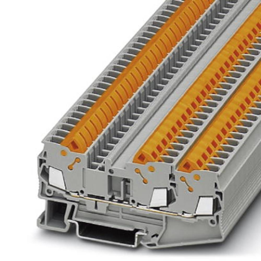 Feed-through terminal block QTC 2,5-TWIN Phoenix Contact QTC 2,5-TWIN Grå 50 stk