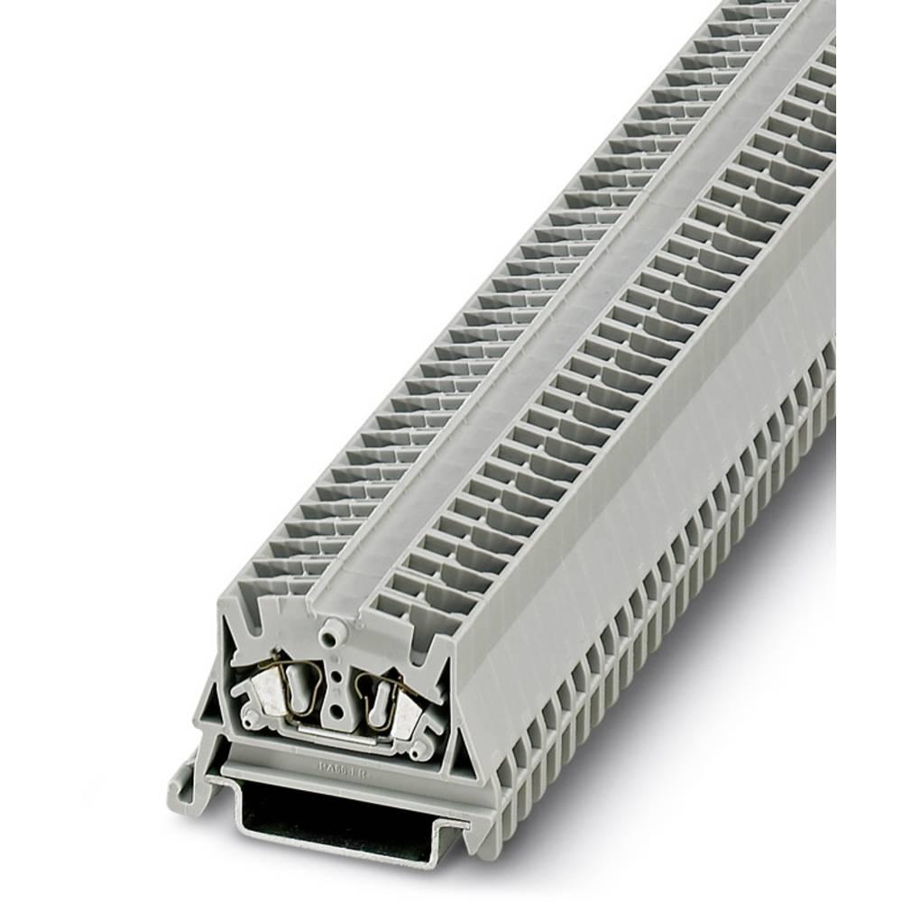 Mini feed-through terminal block MSB 2,5-NS 35 Phoenix Contact MSB 2,5-NS 35 Grå 50 stk