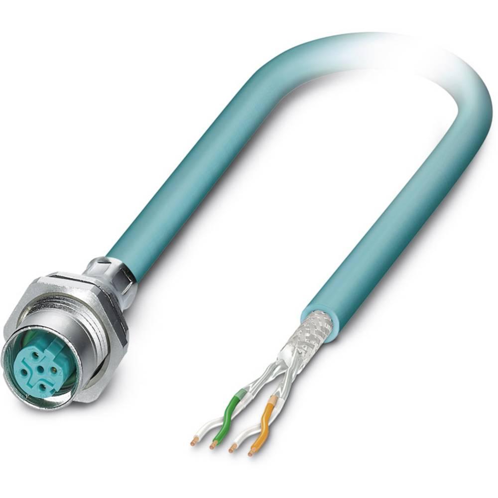 SACCBP-M12FSD-4CON-M16/1,0-931 - S-bus-vgradni vtični konektor, SACCBP-M12FSD-4CON-M16/1,0-931 Phoenix Contact vsebuje: 1 kos