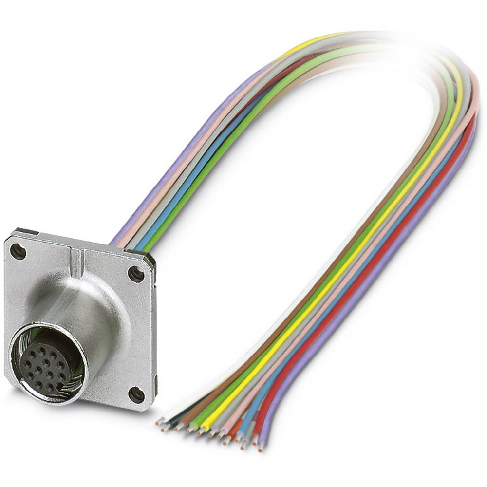 SACC-SQ-M12FS-12CON-25F/0,5 - vgradni vtični konektor, SACC-SQ-M12FS-12CON-25F/0,5 Phoenix Contact vsebuje: 1 kos