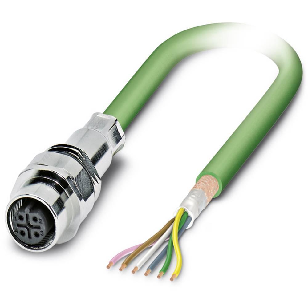SACCEC-M12FSB-5CON-M16/0,5-900 - S-bus-vgradni vtični konektor, SACCEC-M12FSB-5CON-M16/0,5-900 Phoenix Contact vsebuje: 1 kos