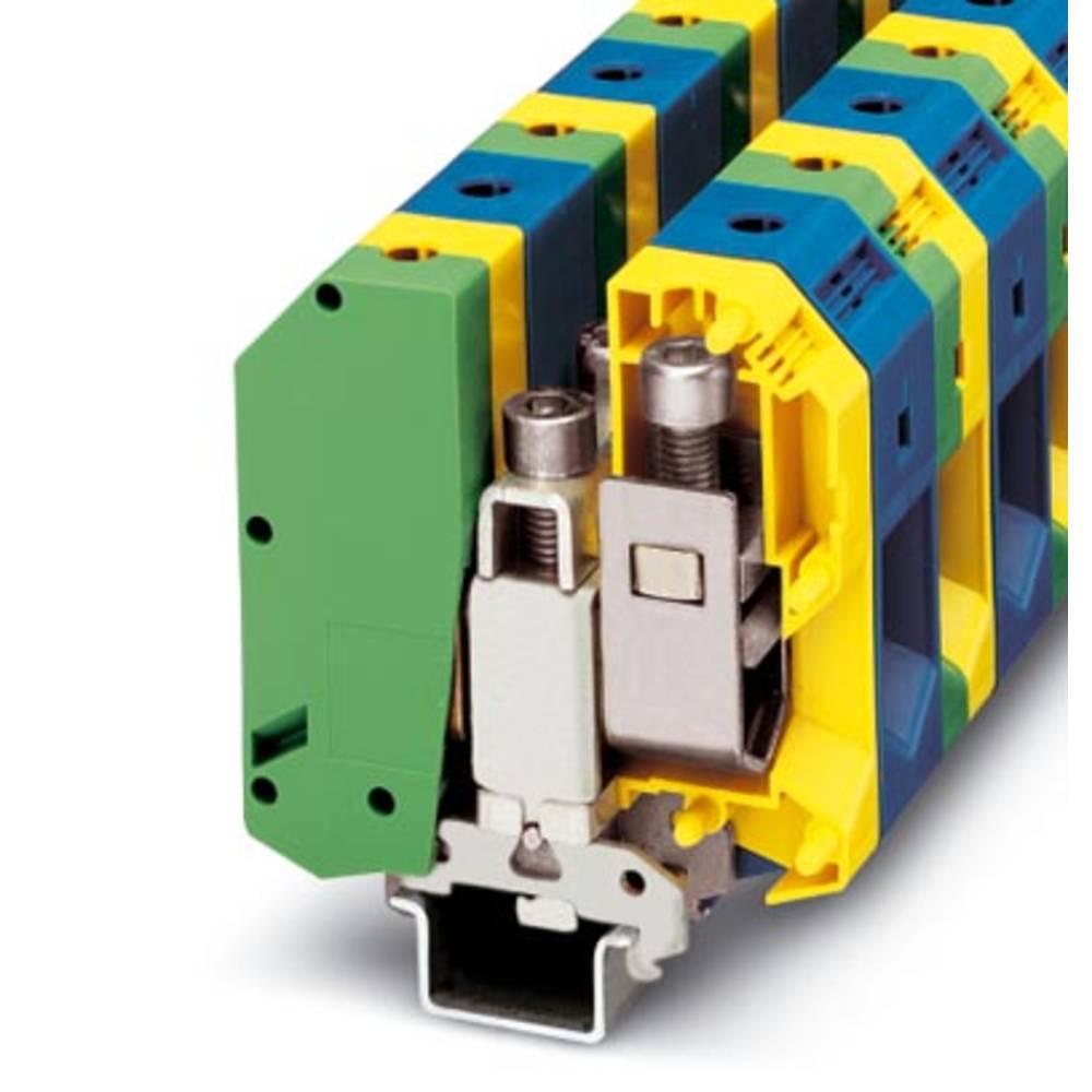 UKH 95-PE / N - beskyttelsesleder klemrække Phoenix Contact UKH 95-PE/N Grøn-gul 5 stk