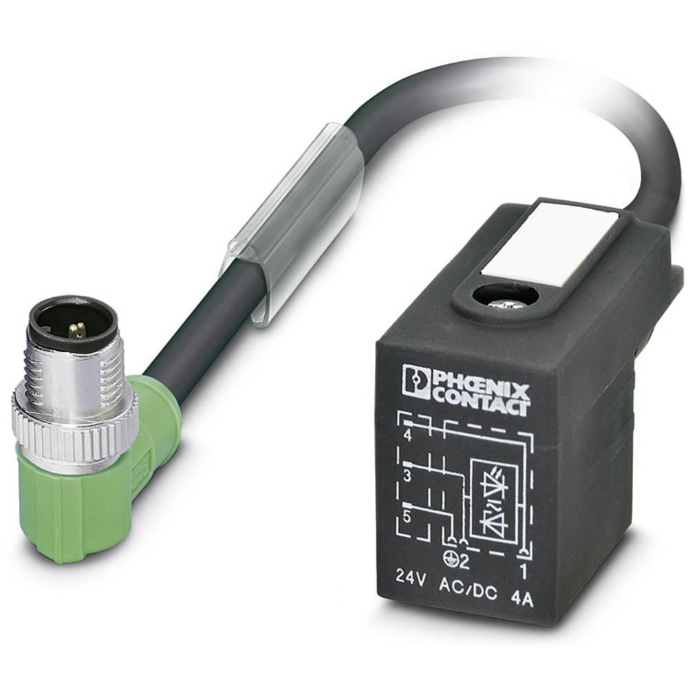 Sensor-, aktuator-stik, Phoenix Contact SAC-3P-MR/ 0,3-PUR/BI-1L-Z SCO 1 stk