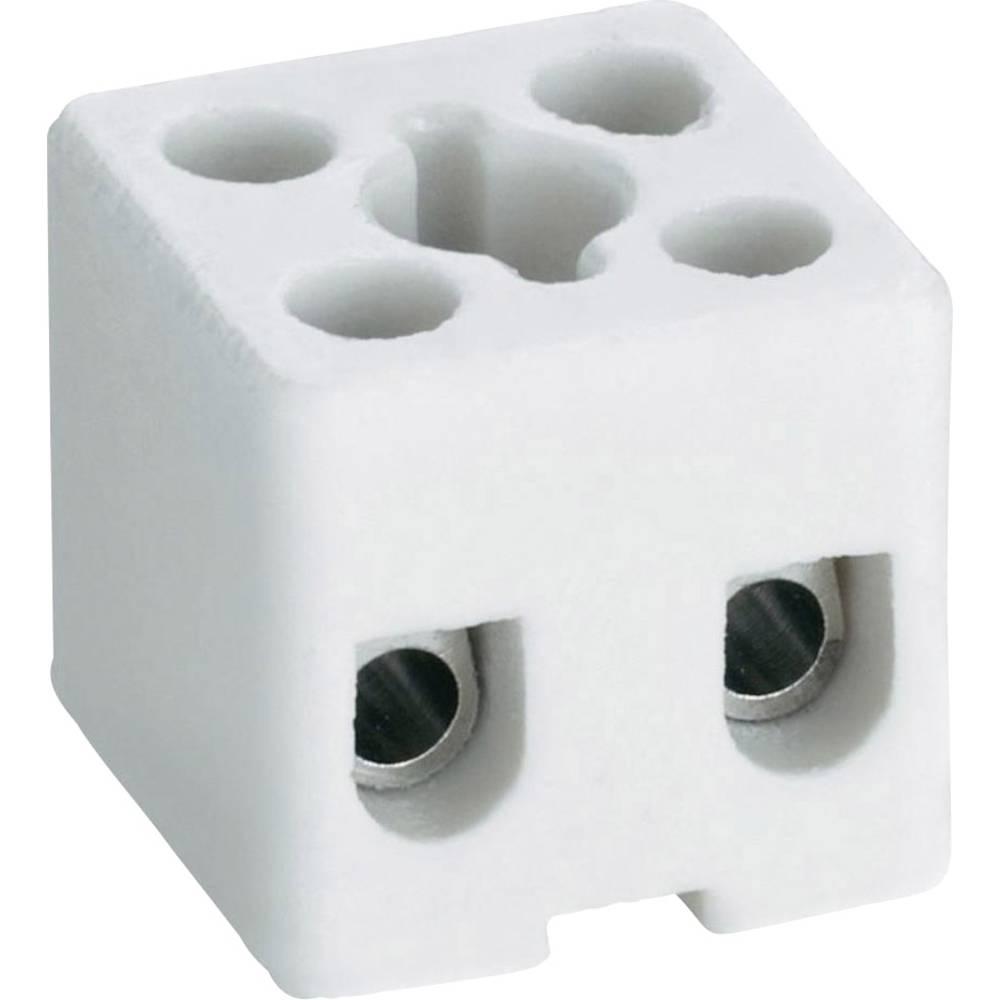 Porcelanaste sponke za lestence Adels-Contact Prečni prerezdo 2.5 mm2 16 A 41 22 02