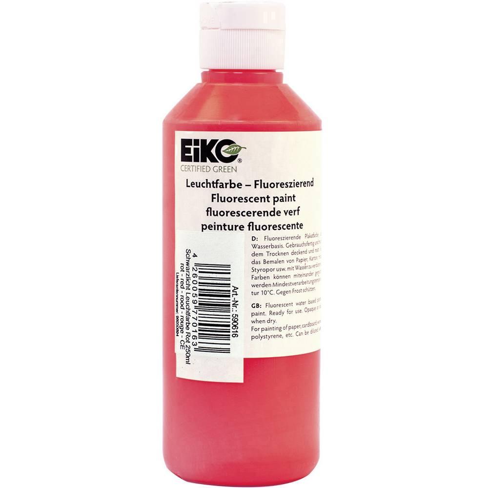 Dekorativna osvetljava s črno lučjo UV-barvna svetloba, rdeča 250 ml