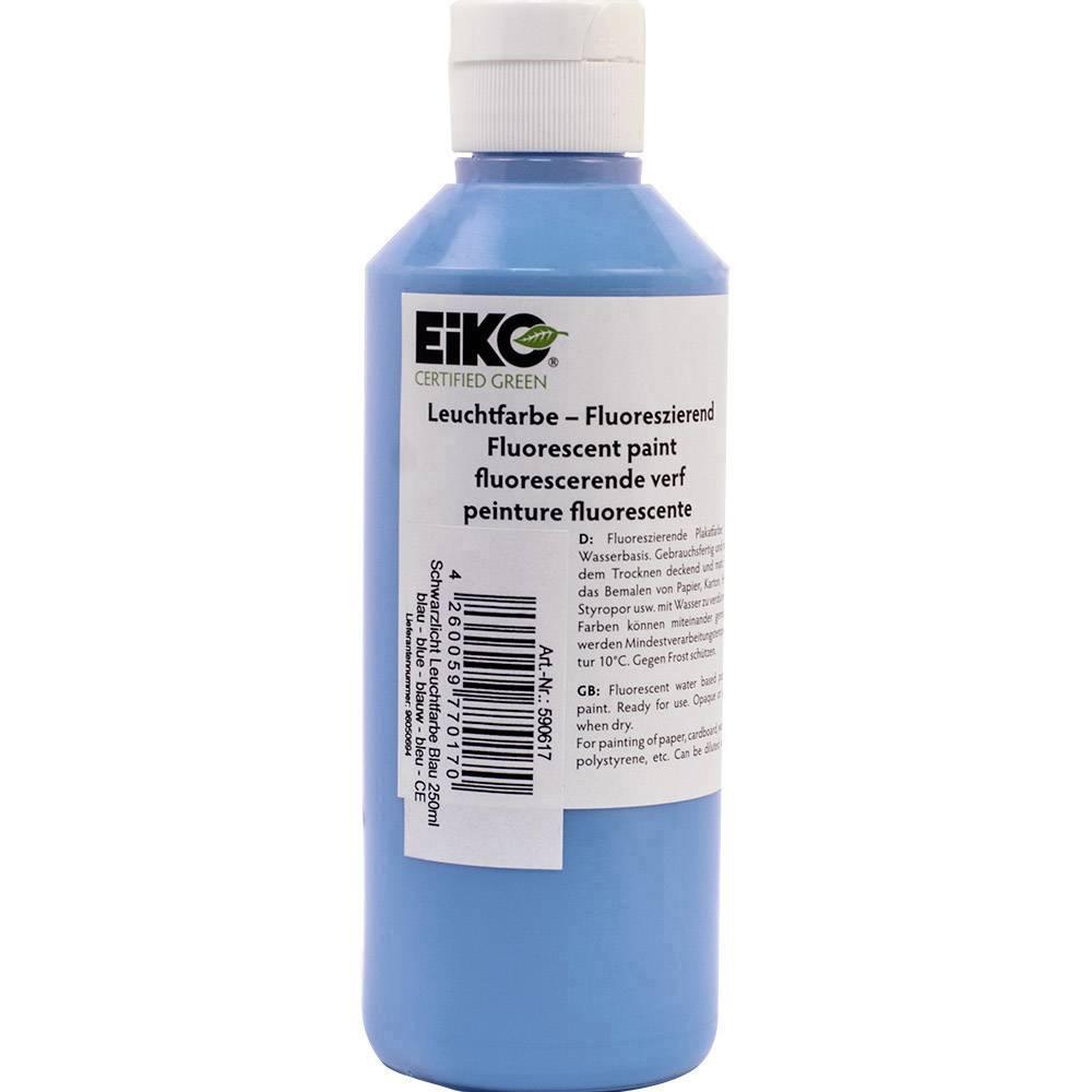 Dekorativna osvetljava s črno lučjo UV-barvna svetloba, modra 250 ml