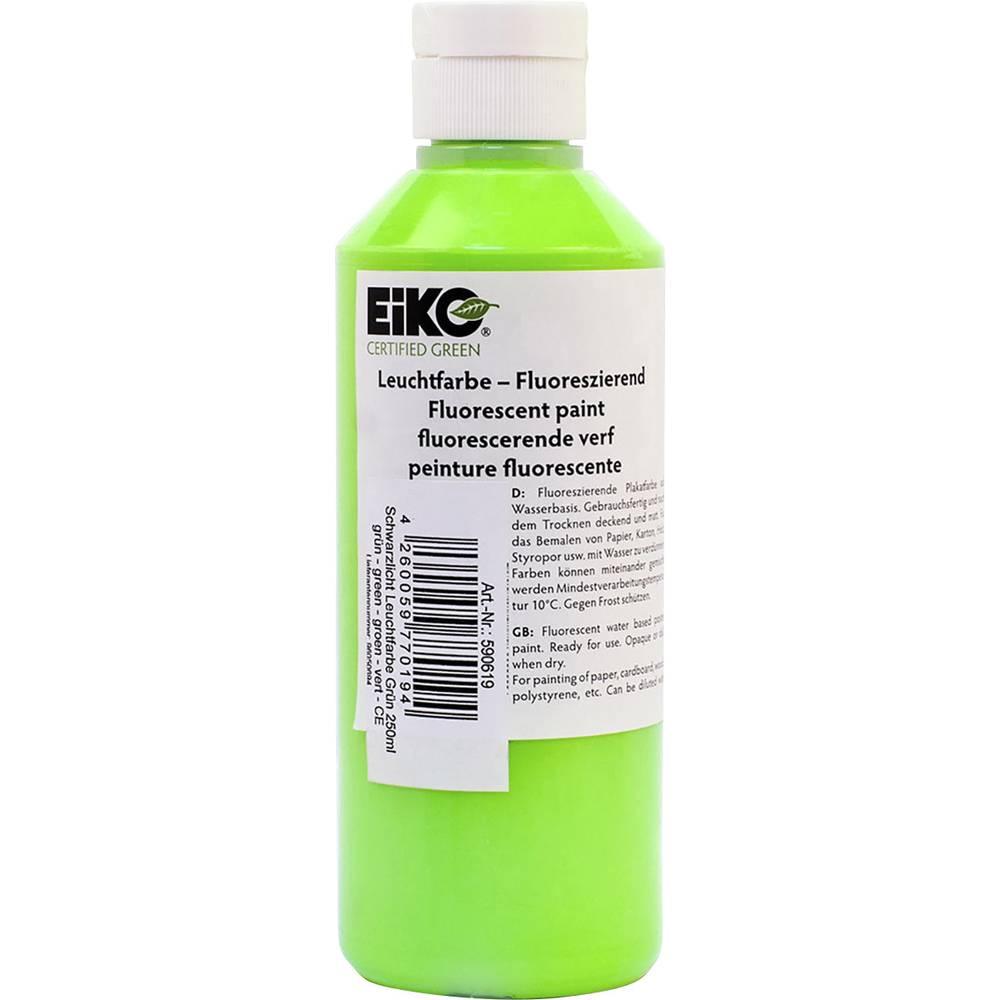 Dekorativna osvetljava s črno lučjo UV-barvna svetloba, zelena 250 ml