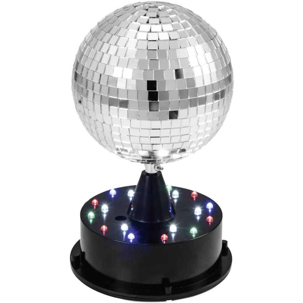 LED zrcalna krogla s svetlečimstojalom