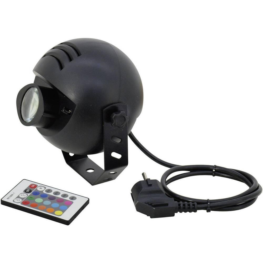 LED Pinspot reflektor broj LED lampica: 1 Eurolite LED PST-9W TCL IR Spot