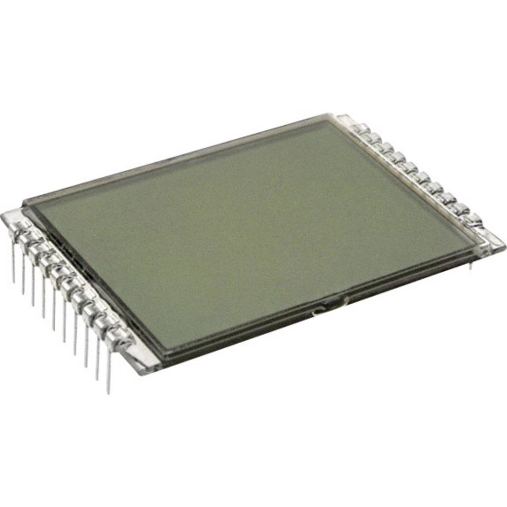 LCD zaslon, siva (Š x V x G) 33 x 9.15 x 50 mm LUMEX LCD-S101D14TR