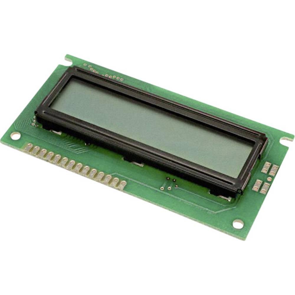 LCD zaslon, zelena (Š x V x D) 44 x 8.8 x 84 mm LUMEX LCM-S01602DSR/B