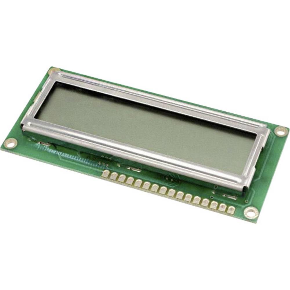 LCD zaslon, zelena (Š x V x G) 36 x 8.8 x 80 mm LUMEX LCM-S01602DTR/A