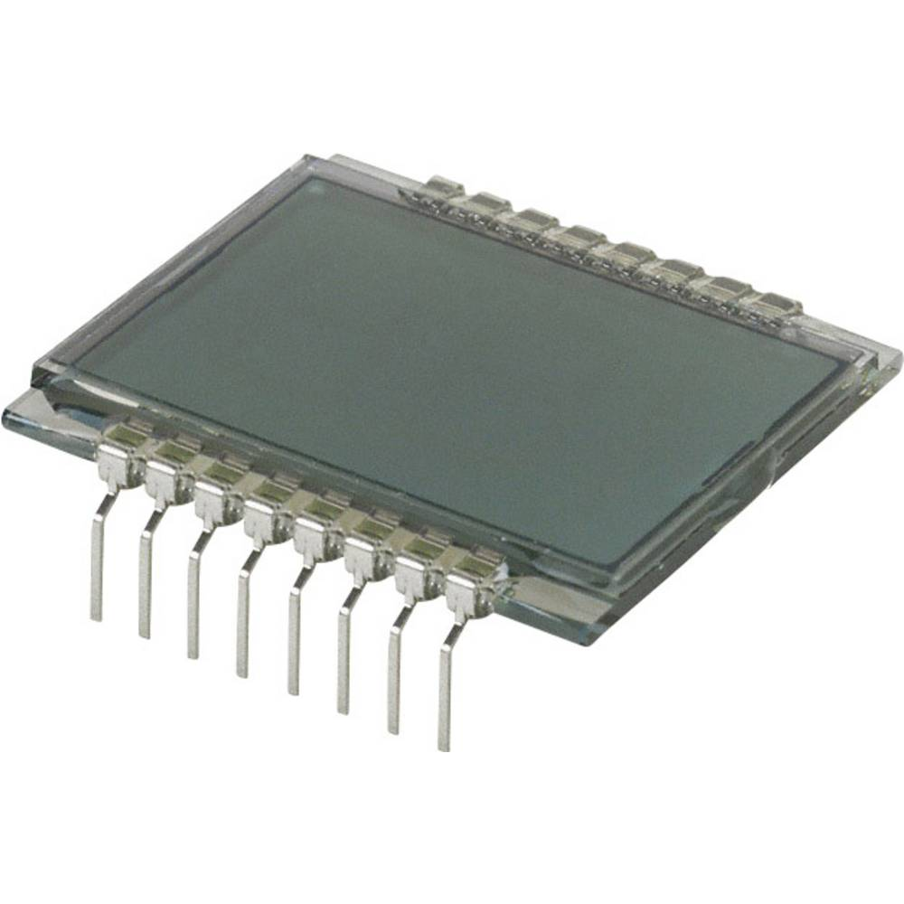 LC-display LUMEX LCD-S2X1C50TR (B x H x T) 28.67 x 9.15 x 30 mm Grå